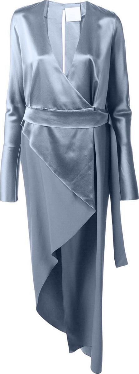 Dion Lee Asymmetric wrap dress