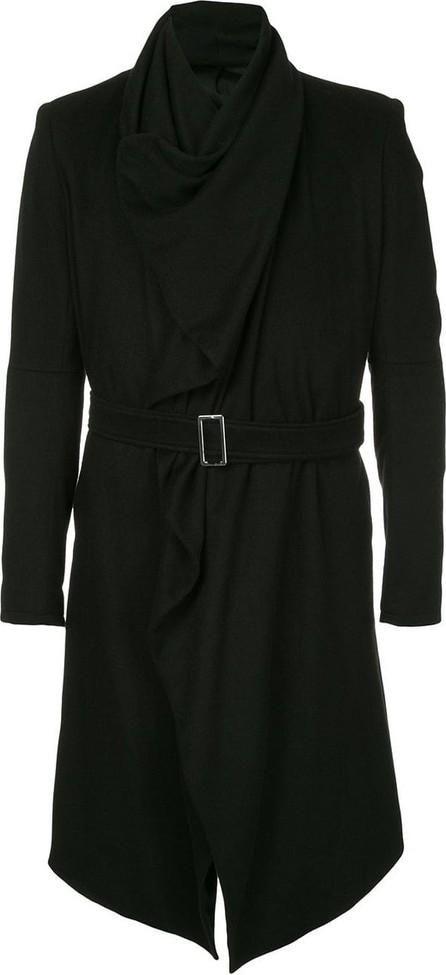 Balmain Wrap belted coat