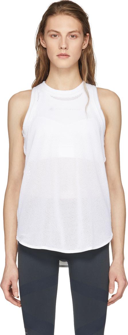 Adidas By Stella McCartney White Yo Mesh Tank Top