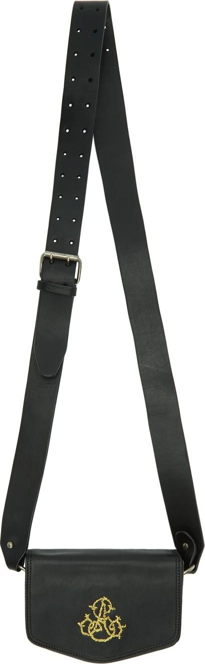 Ann Demeulemeester Black Cimone Bag