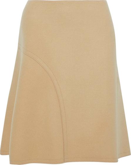 Nina Ricci Fluted wool-blend skirt