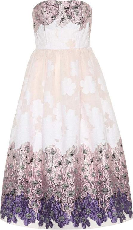 Huishan Zhang Victoria floral jacquard dress