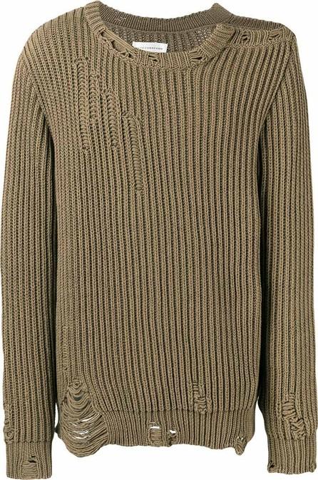Faith Connexion Destroyed Cotton-Blend Sweater