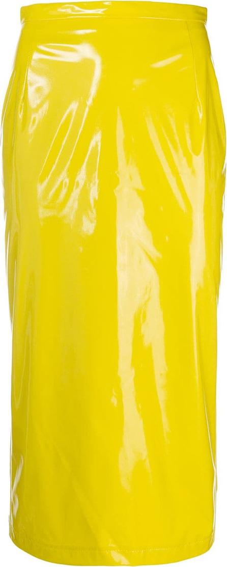 Nº21 Vinyl pencil skirt