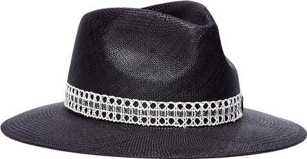 Maison Michel 'Rico' caning ribbon straw Panama hat