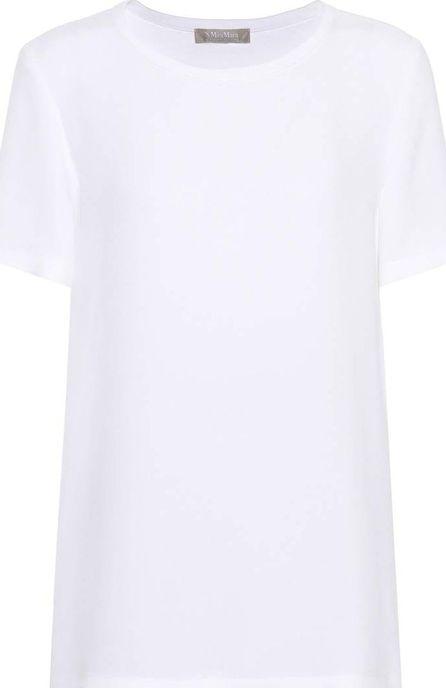 Max Mara Clarino silk-crêpe T-shirt
