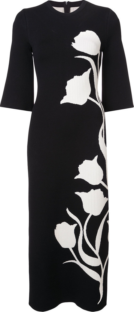 Carolina Herrera Floral patterned dress
