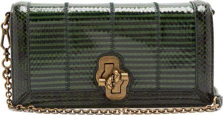 Bottega Veneta Knot intrecciato-leather cross-body bag