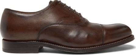 Grenson Lucas Cap-Toe Leather Oxford Shoes