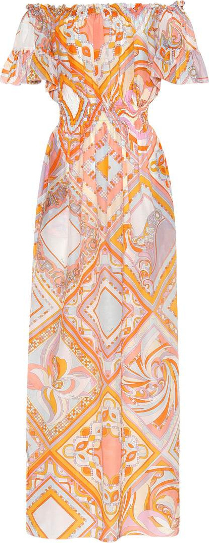 Emilio Pucci Off-the-shoulder dress
