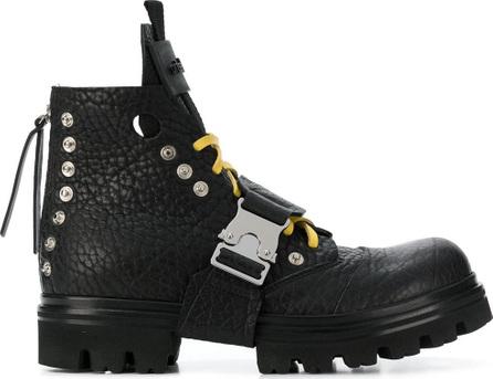 Artselab Rollercoaster buckle cargo boots