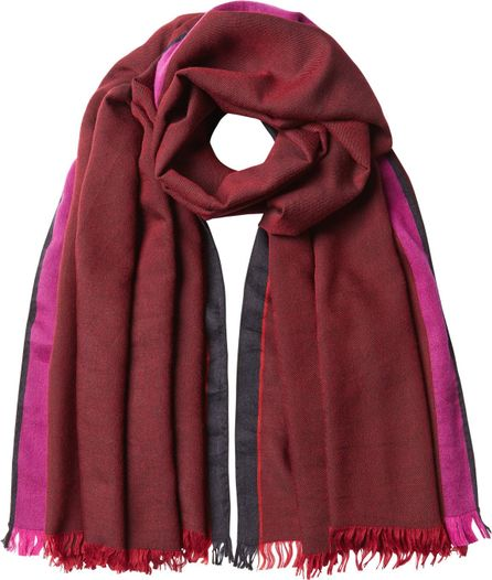 Haider Ackermann Scarf  with Wool, Cashmere and Silk