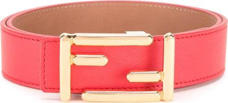 Fendi logo branded belt