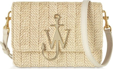J.W.Anderson Viscose and Leather Logo Bag