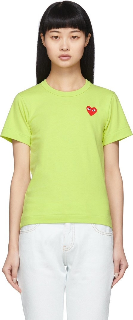 Comme Des Garcons PLAY Green Small Heart T-Shirt
