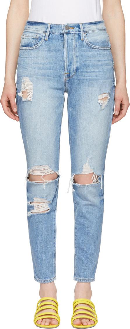 FRAME DENIM Blue 'Le Original Skinny' Jeans