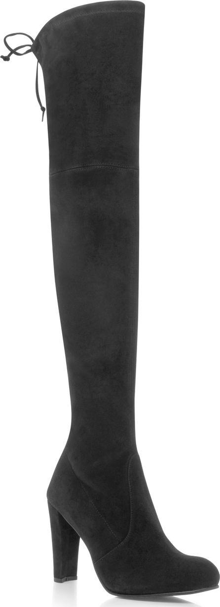 Stuart Weitzman Highland Suede Over-The-Knee Boots