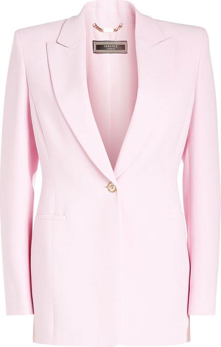 Versace Ros Silk Blazer
