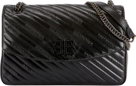 Balenciaga BB Medium Quilted Shoulder Bag