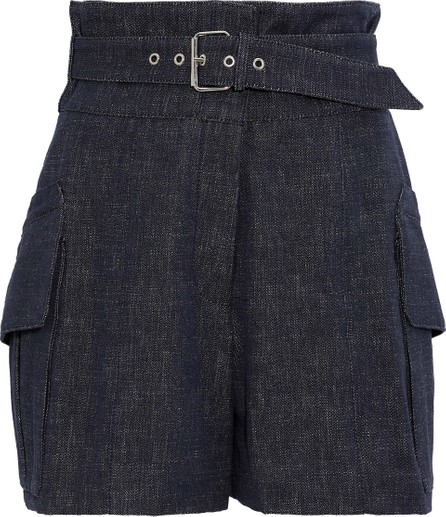 Derek Lam Buckled denim shorts