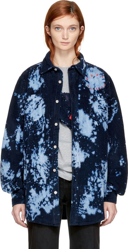 032c Blue Corduroy Peroxide Shirt