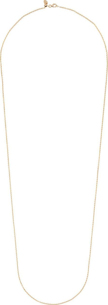 Loquet London 32 inch yellow gold chain