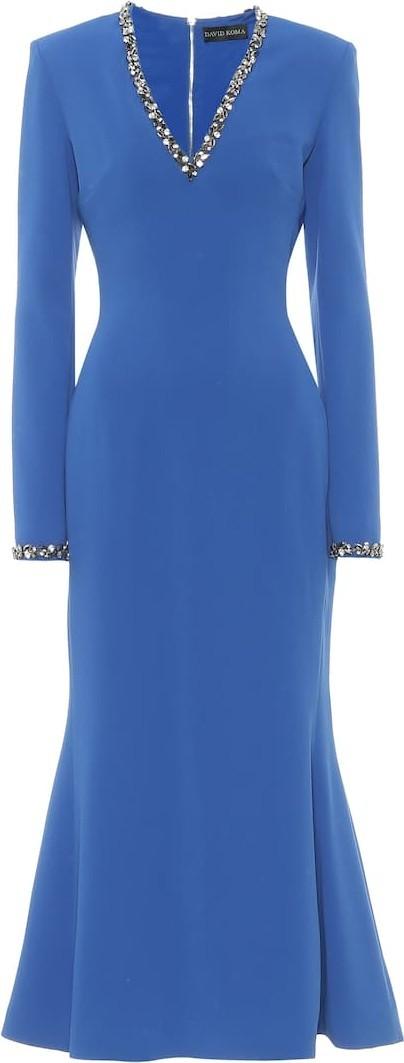 David Koma Exclusive to Mytheresa – Embellished cady dress