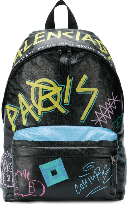 Balenciaga Graffiti backpack