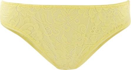Araks Tris floral-lace briefs