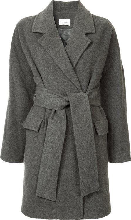 I Am Studio Belted mid-length coat