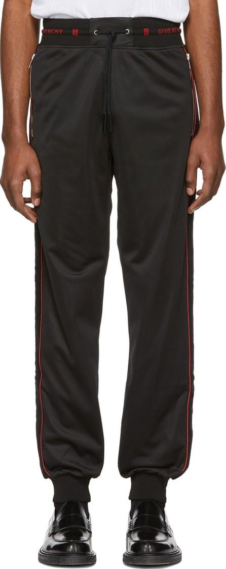Givenchy Black 4G Side Band Lounge Pants