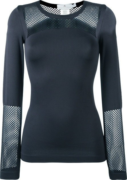 Adidas By Stella McCartney seamless mesh top
