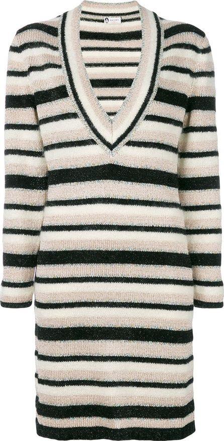 Lanvin striped knit dress