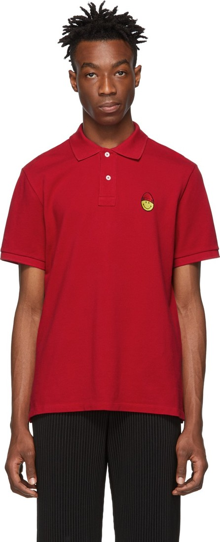 AMI Red Smiley Edition Patch Polo