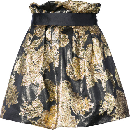 Faith Connexion Brocade mini skirt