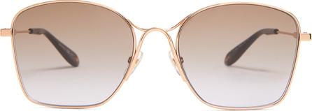 Givenchy Square-frame metal sunglasses