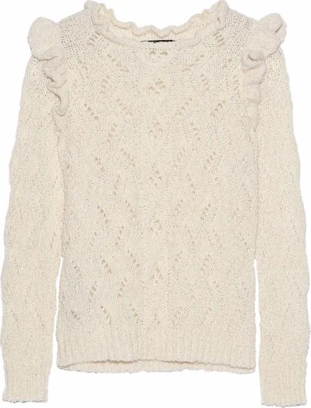 Antik Batik Melody pointelle-knit alpaca-blend sweater