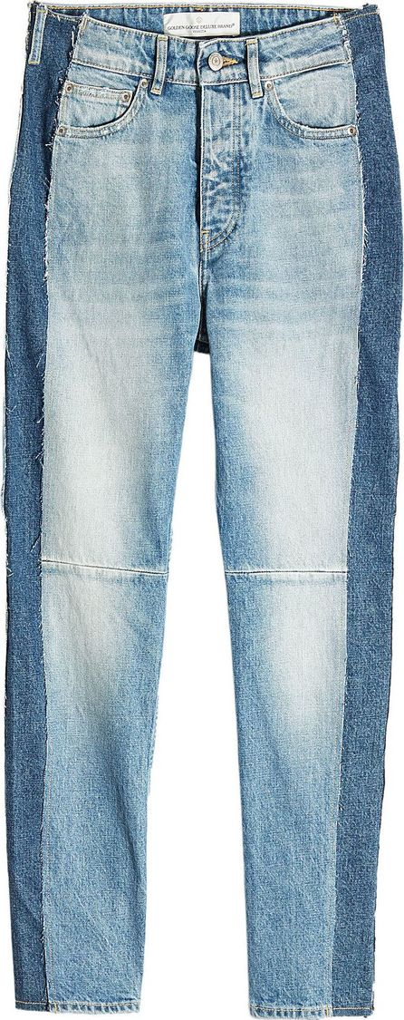Golden Goose Deluxe Brand Two-Tone Skinny Jeans