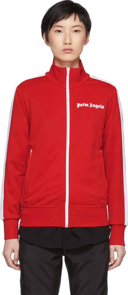 Palm Angels Red & White Classic Track Jacket