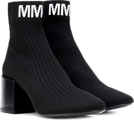MM6 Maison Margiela Knitted ankle boots
