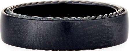 David Yurman Streamlined Titanium Band Ring