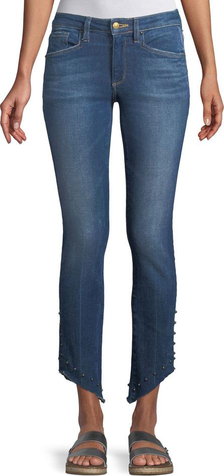 Acynetic Loren Kaylor Skinny Jeans w/ Grommet Asymmetric Hem