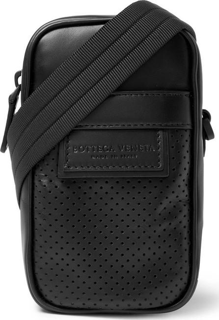 Bottega Veneta Perforated Leather Messenger Bag