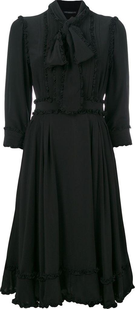 Ermanno Scervino ruffle detail dress