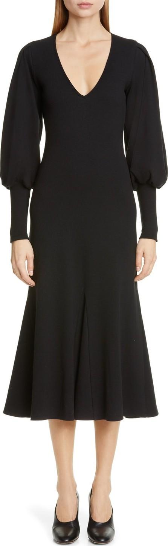 Beaufille Flora Long Sleeve Midi Dress