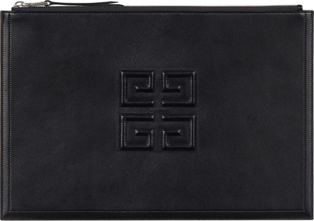 Givenchy Logo Lambskin Leather Pouch
