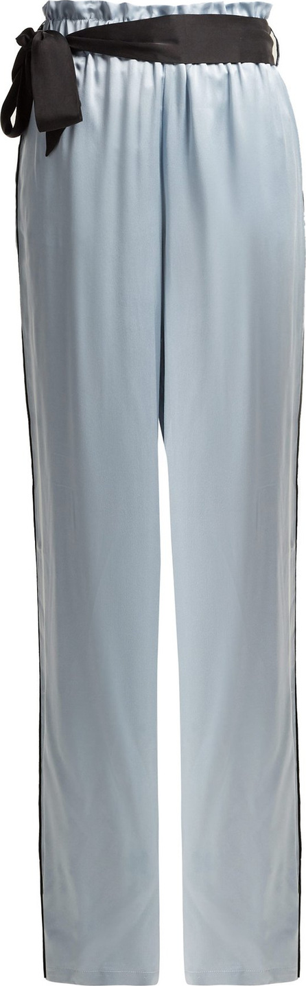 Asceno Wide-leg silk pyjama trousers