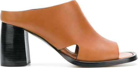 Joseph Open-toe mules