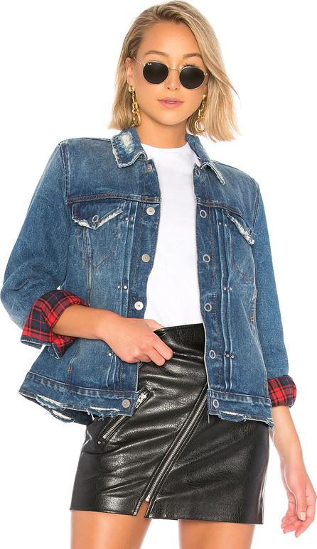 BLANKNYC Reversible Plaid Jacket