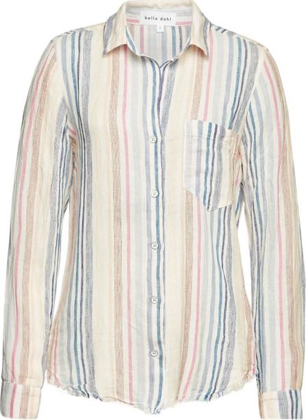 Bella Dahl Striped Shirt with Linen